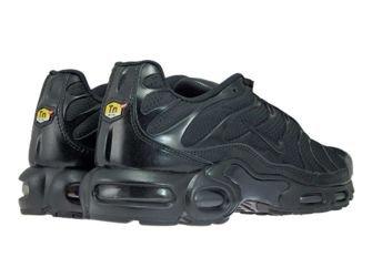 604133-050 Nike Air Max Plus TN 1 Black/Black-Black