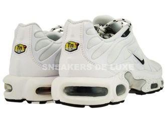 604133-107 Nike Air Max Plus TN 1 White/Black Silver