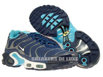604133-422 Nike Air Max Plus TN 1 Brave Blue / White-Gamma Blue-Cool Grey