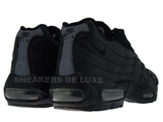 609048-004 Nike Air Max 95 Black/Black-Flint Grey