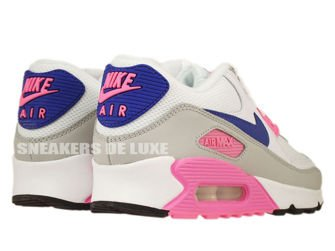 616730-104 Nike Air Max 90 Essential White/Concord-Zen Grey-Pink Glow