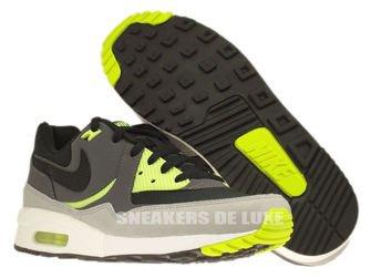 631722-007 Nike Air Max Light Essential Black/Black-Dark Grey-Volt