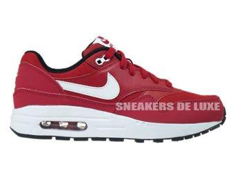 807602-601 Nike Air Max 1 Gym Red/White-Black
