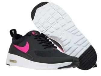 814444-001 Nike Air Max Thea Black/ Hyper Pink-White