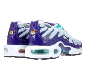 AR1852-005 Nike Air Max Plus TN 1 Pure Platinum/Black-Hyper Jade