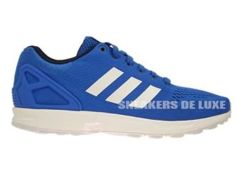 B34511 adidas ZX Flux Blue / Ftwr White / Core Black