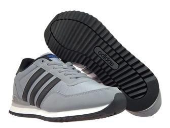 BB9681 adidas NEO Jogger CL Grey Three/Core Black/Blue