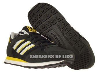 D67735 adidas Originals ZX 100 Black / Clear Grey / Sunshine