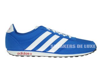 F38505 adidas V Racer Nylon Blue / White / Power Red