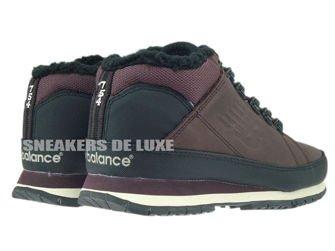 HL754BB New Balance Brown / Black Leather Fur