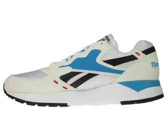 M49098 Reebok Bolton Chalk/White/Red Rush/California Blue/Black