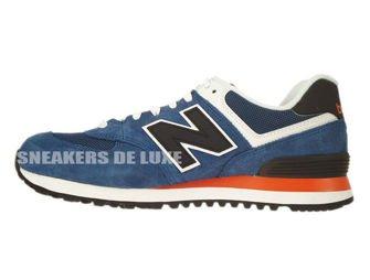 ML574MOY New Balance Blue / Black