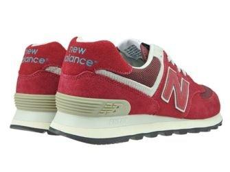 New Balance ML574FBR Red / Burgundy
