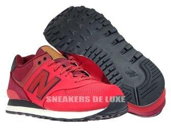 New Balance ML574GPE Red / Dark Red ML574GPE New Balance \ mens  