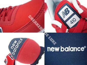 New Balance U410MNRN Red /Navy