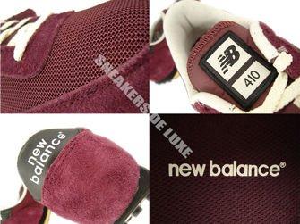 New Balance U410VRK Vintage Dark Red / Black