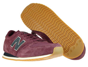 New Balance U420HJ Burgundy with Black