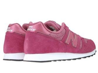 New Balance WL373DPW Dark Pink with White