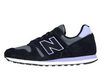 New Balance WL373WNB Black with White