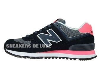 New Balance WL574CPL Black / Grey / Pink