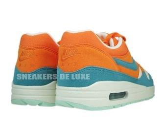 Nike Air Max 1 Bright Mandarine/Mineral Blue 308866-800