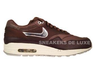 Nike Air Max 1 Premium SP Dark Oak/Metallic Silver-Light Bone 314252-201