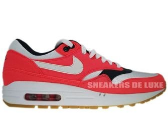 Nike Air Max 1 Solar Red/White-Seaweed-Gum-Light Brown 319986-600
