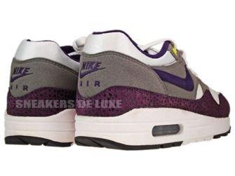Nike Air Max 1 White/Grand Purple-Metallic Pewter 308866-151