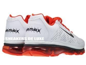 Nike Air Max 2011+ LeatherWhite Anthracite/Team-Orange 456325-102