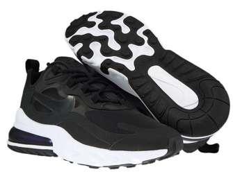 Nike Air Max 270 React CJ0619-002 Black/Black-White