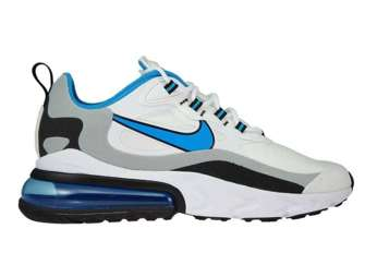 Nike Air Max 270 React CT1280-101 White/Laser Blue-Wolf Grey