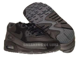 Nike Air Max 90 Black/Dark Grey-Metallic Silver