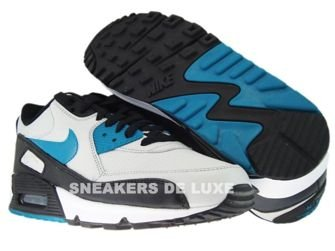 Nike Air Max 90 Neutral Grey/Blustery-Black 309299-027