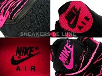 Nike Air Max 90 Premium LE Black/Vivid Pink 375572-061