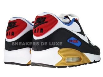 Nike Air Max 90 Premium LE Black/White/Varsity Red/Varsity Blue 333888-012