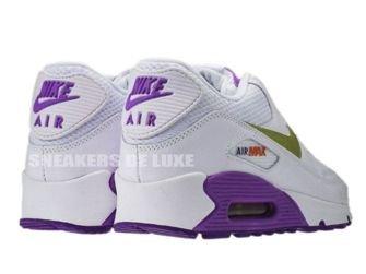 Nike Air Max 90 White/Metallic Gold Crt Purple 345017-112