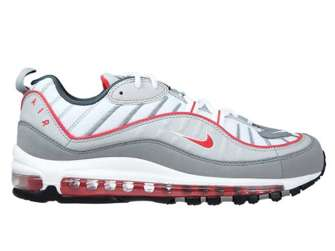 Nike Air Max 98 CI3693-001 Particle Grey/Track Red