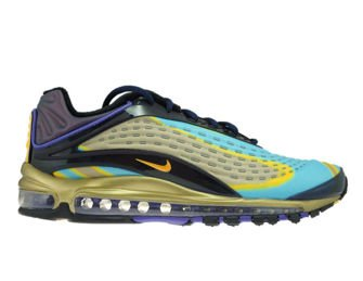 Nike Air Max Deluxe AJ7831-400 Midnight Navy/Laser Orange