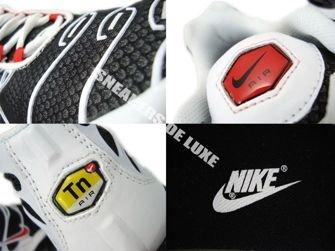 Nike Air Max Plus TN 1 Black/Sport Red-White