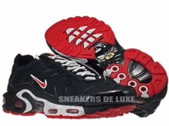 Nike Air Max Plus TN 1 Black/University Red-White