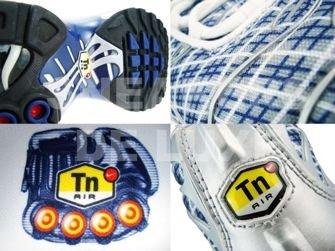 Nike Air Max Plus TN 1 Metallic Silver/Midnight Navy-Metallic Silver