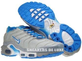 Nike Air Max Plus TN 1 Neutral Grey/White-Blue Glow