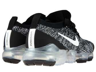 Nike Air VaporMax Flyknit 3 AJ6910-001 Black/White-Metallic Silver