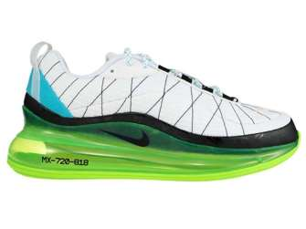 Nike MX-720-818 CT1266-101 White/Black-Ghost Green