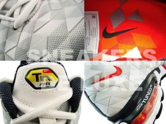 Nike Tuned X 10 White/Grey Max-Orange