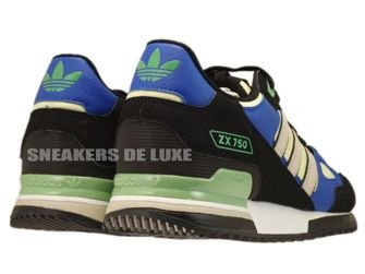 Q23662 Adidas ZX 750 Originals Black/Bliss-Haze Yellow