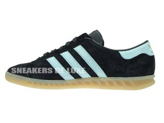 S74833 adidas Hamburg Black/Blush Blue/Vintage White
