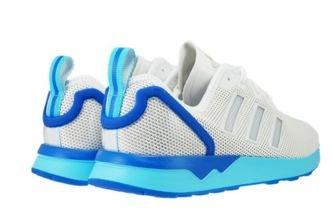 S79014 adidas ZX Flux ADV Vintage White / Blue Glow
