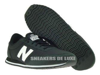 U395MNKW New Balance Black / White