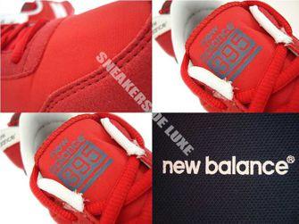 U395MNRW New Balance Red / White